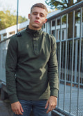 mastrum schipperstrui oil slick knitwear