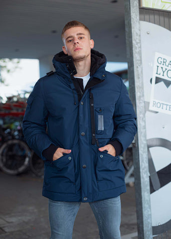 MASTRUM ASCENDA PARKA -JET BLACK