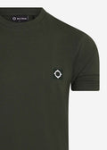 mastrum t-shirt oil slick green