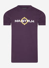 mastrum t-shirt aubergine