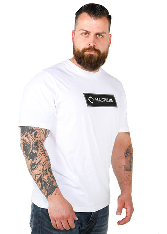 Mastrum Icon box logo t-shirt - White