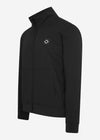 mastrum tech fleece vest zwart sweat
