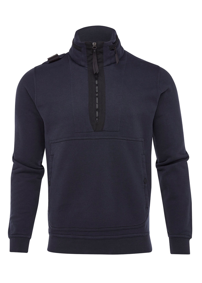 TRAINING QUARTER ZIP - DARK NAVY