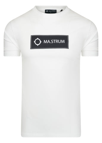 mastrum t-shirt wit white