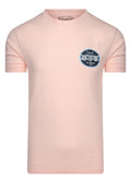 Future retro logo t-shirt - impatiens pink