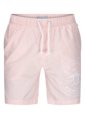 original penguin swimshort pink
