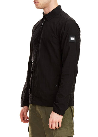 weekend offender overshirt zwart