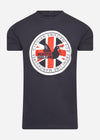 peaceful hooligan t-shirt navy