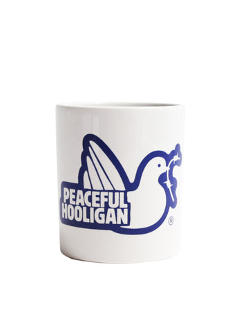 PEACEFUL HOOLIGAN - MUG NAVY