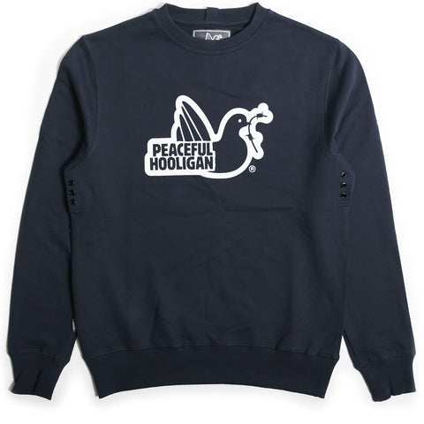 peaceful hooligan crewneck sweater trui