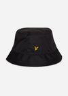 lyle and scott ripstop bucket hat black