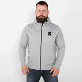MA.STRUM - Vest FULL ZIP TRACK SWEAT Grey Marl