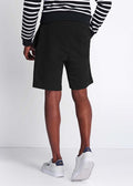 lyle and scott sweat short jet black