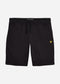 Sweat short - jet black