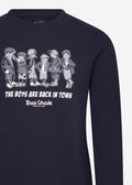 The boys are back in town sweater