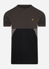 lyle and scott t-shirt panel