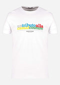 Tribute tee - white
