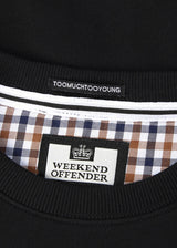 weekend offender aquascutum check sweater