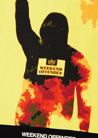 weekend offender t-shirt flare
