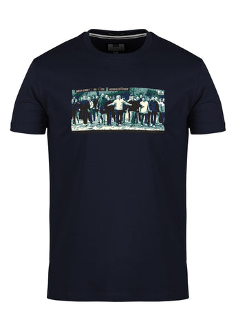 green street hooligan t-shirt navy