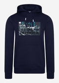 Saturdays hoodie - navy