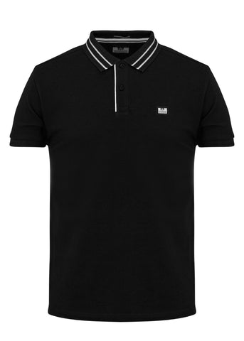weekend offender polo black