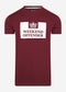 weekend offender t-shirt rood bordeaux