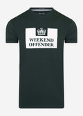 weekend offender t-shirt green