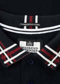 weekend offender polo navy rivera