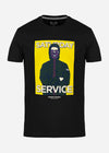 Saturday service - black