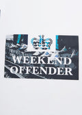 weekend offender t-shirt saturdays