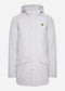 lyle and scott parka winterjas grey fog