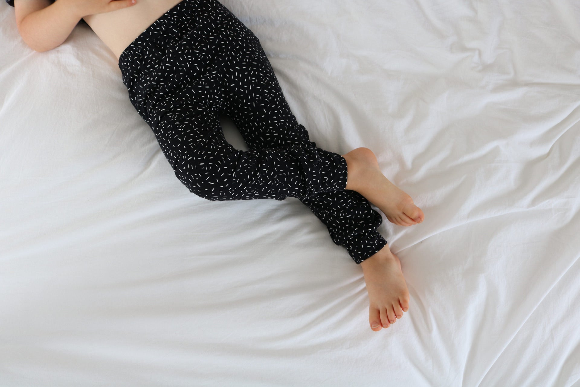 Black Confetti Baby & Toddler Leggings - ALL PROFITS TO BLACK MINDS MATTER UK