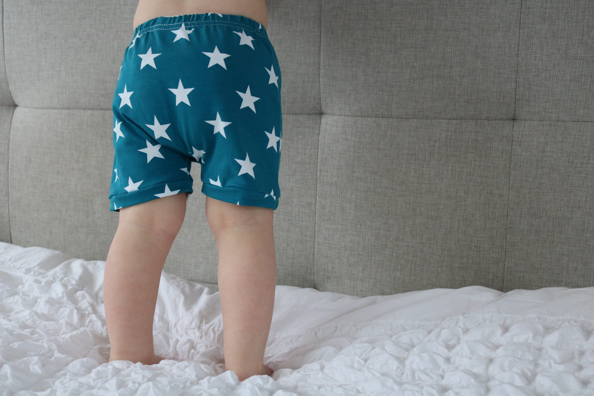 Turquoise Star Baby & Toddler Shorts