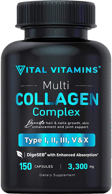 Multi Collagen Pills (Types I,II,III,V,X)
