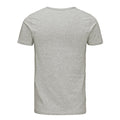Light Grey Melange Back