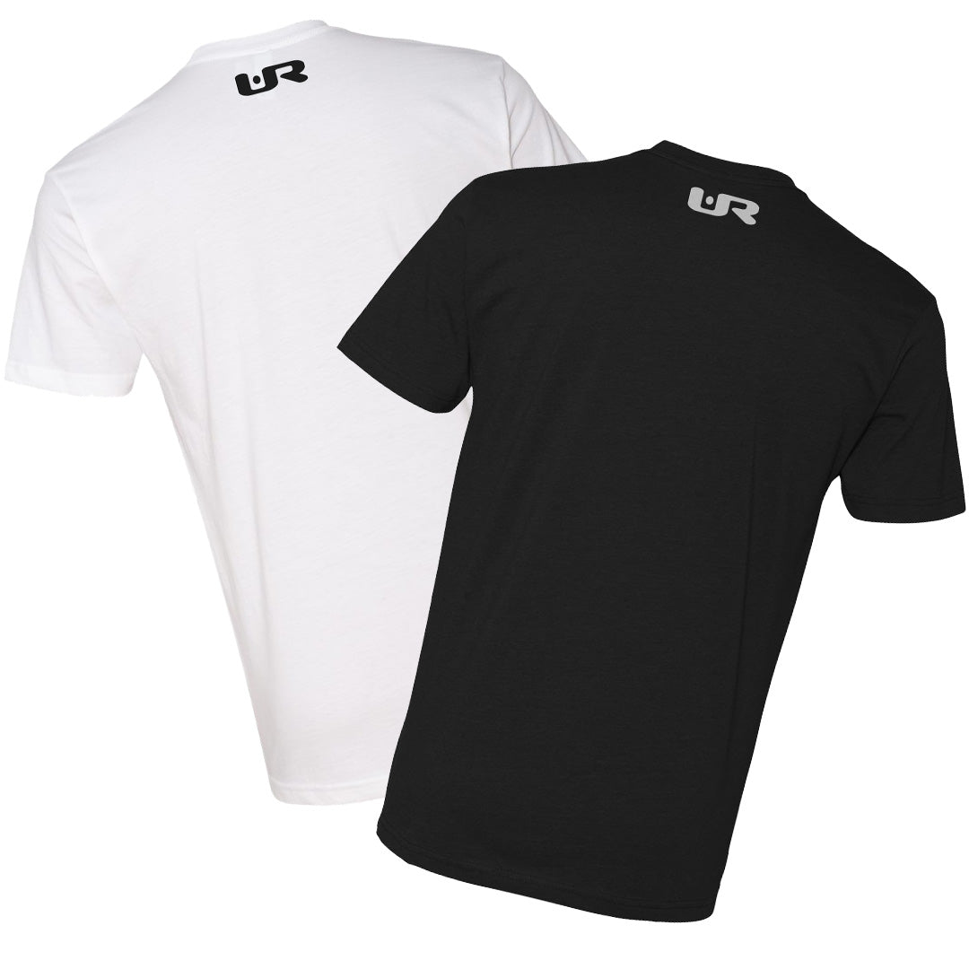 Iconic URNY Double Pack - Short Sleeve White & Black T-Shirts