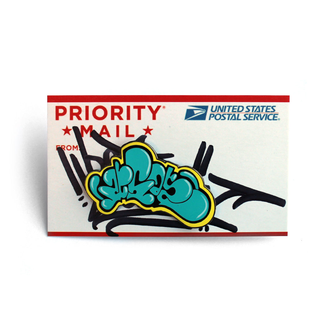 "Blue Moon ""2esae"" Limited Throw-up Pin"