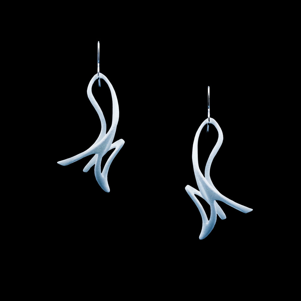 Mahuika Earrings - 3D Printed Nylon