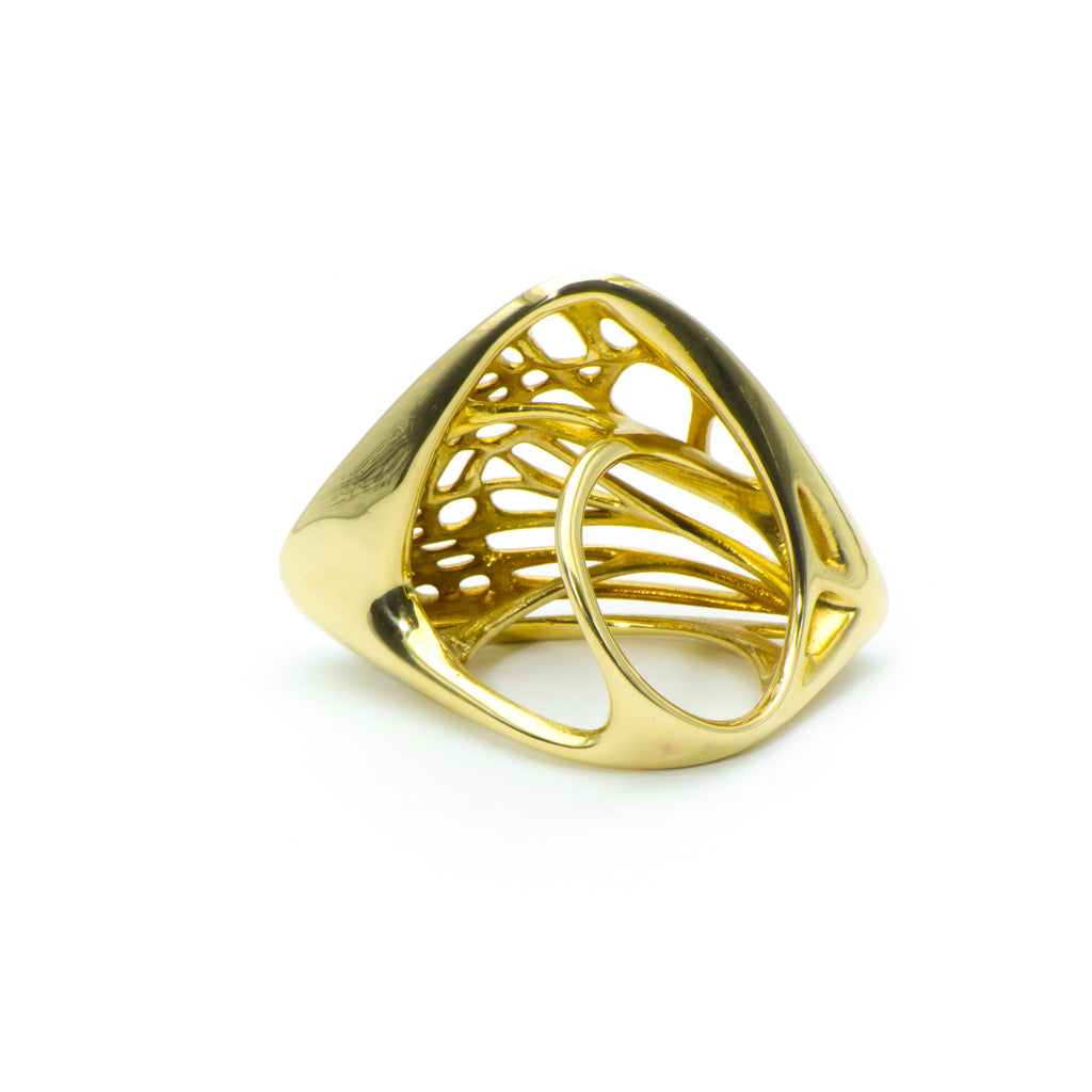 Butterfly Ring in Metals