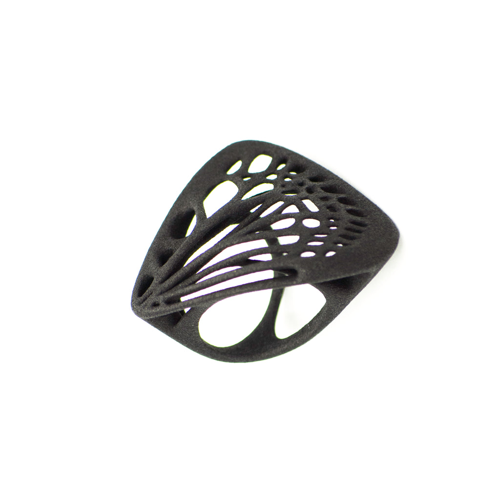 Butterfly Ring - 3D Printed Nylon