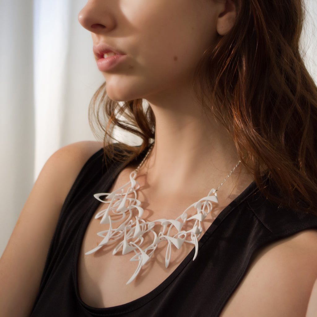 Counterpoint Necklace - 3D Printed Nylon