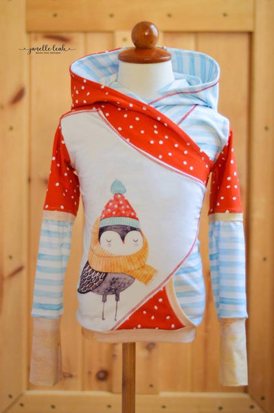 New Arrival - Owl With Beanie Rapport