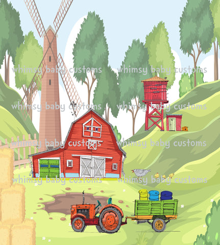 March 2021 Preorder- Child Panel 582 Farm Life FULL