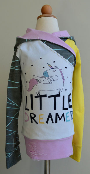 596 Little Dreamer Unicorn Child Panel