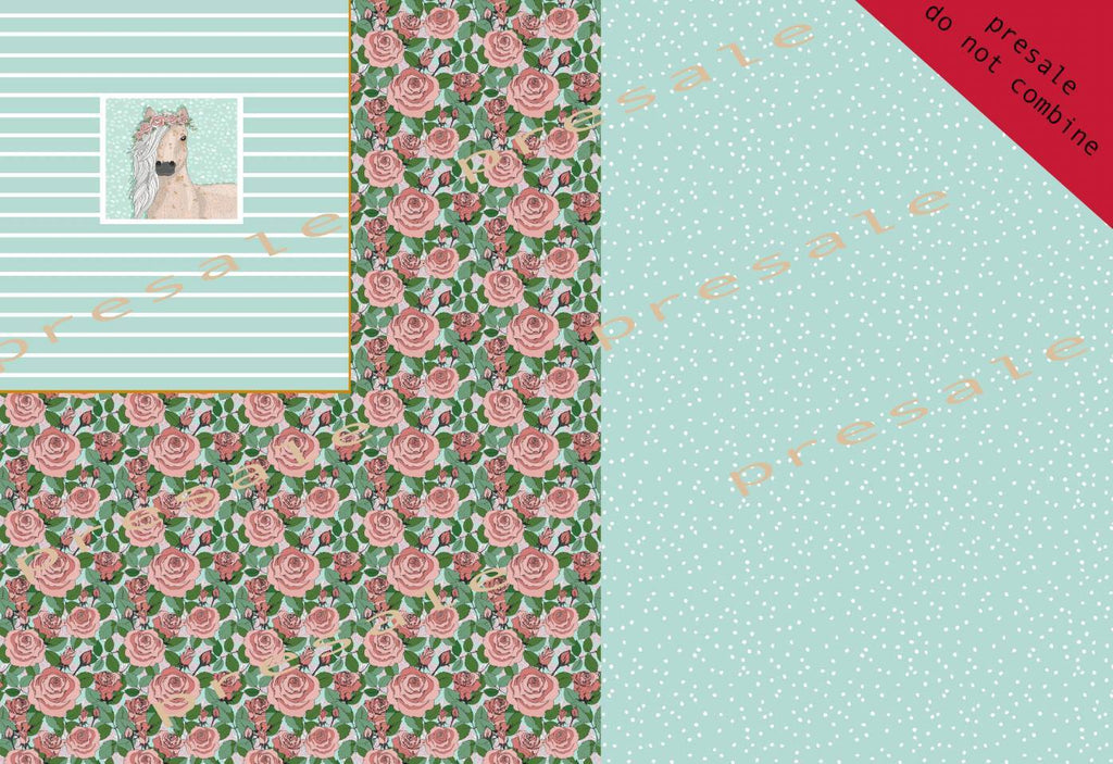 Floral Rose Unicorn Rapport