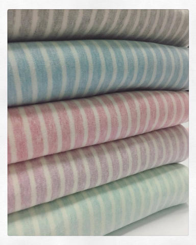 Heather Stripes Interlock Fabric RETAIL