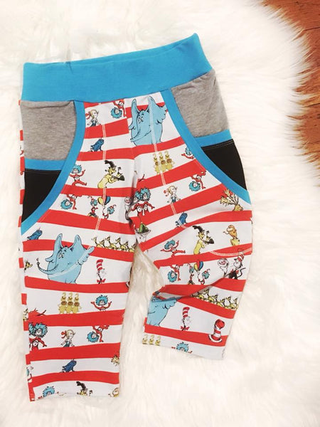 Seuss Cat in the Hat Fabric
