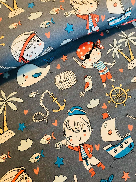 Natalia Pirates Fabric