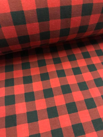 SMALL SCALE Red Buffalo Plaid CL